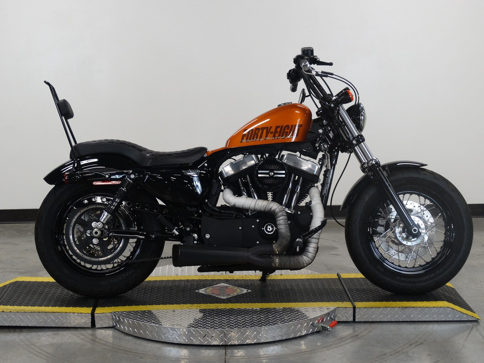pre owned 2015 harley davidson sportster forty eight xl1200x sportster in olathe u419207. Black Bedroom Furniture Sets. Home Design Ideas