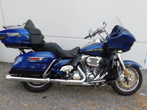 Pre-Owned 2015 Harley-Davidson Road Glide Ultra CVO FLTRUSE CVO/Touring
