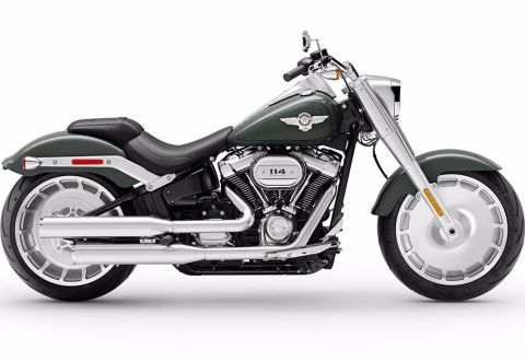 New 2020 Harley-Davidson Softail Fat Boy 114 FLFBS
